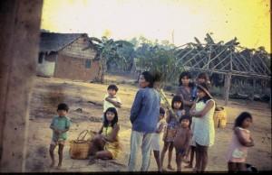 Karitiana Tribal Scene