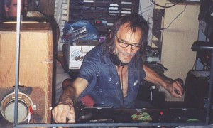 DJing at Pietro's Pizza Pub in 2000