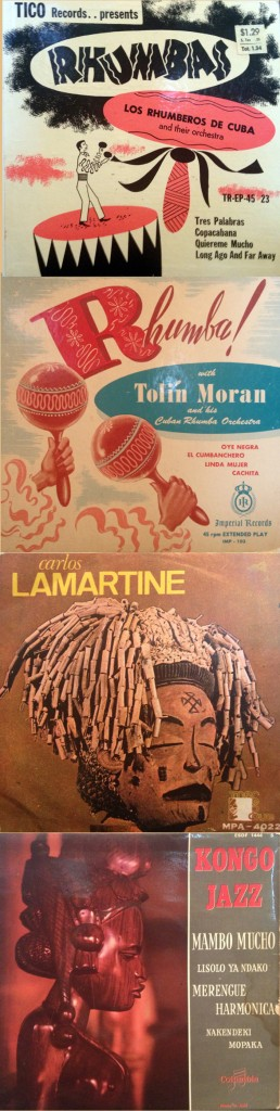 African and Cuban Rumba EP's